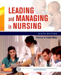 cover image - Evolve Resources for Leading and Managing in Nursing,6th Edition