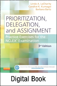 cover image - Prioritization, Delegation, and Assignment - Elsevier eBook on VitalSource,3rd Edition