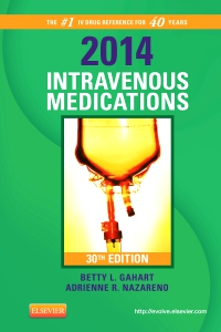 cover image - 2014 Intravenous Medications - Elsevier eBook on VitalSource,30th Edition