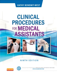 cover image - Evolve Resources for Clinical Procedures for Medical Assistants,9th Edition
