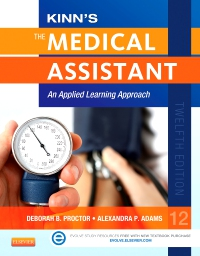 cover image - Kinn's The Medical Assistant - Elsevier eBook on VitalSource,12th Edition