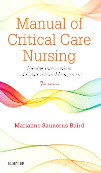 cover image - Manual of Critical Care Nursing - Elsevier eBook on VitalSource,7th Edition