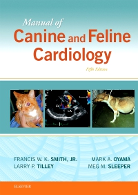cover image - Manual of Canine and Feline Cardiology,5th Edition