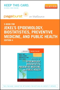 cover image - Jekel's Epidemiology, Biostatistics, Preventive Medicine, and Public Health - Elsevier eBook on VitalSource (Retail Access Card),4th Edition
