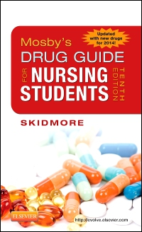 cover image - Mosby's Drug Guide for Nursing Students, with 2014 Update - Elsevier eBook on Vitalsource,10th Edition