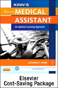 cover image - Medical Assisting Online for Kinn's The Administrative Medical Assistant (User Guide/Access Code, Textbook and Study Guide Package),8th Edition