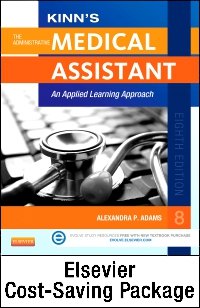 cover image - Virtual Medical Office for Kinn's The Administrative Medical Assistant (User Guide/ Access Code, Text & Study Guide Package),8th Edition