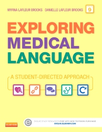 cover image - Exploring Medical Language - Elsevier eBook on VitalSource,9th Edition