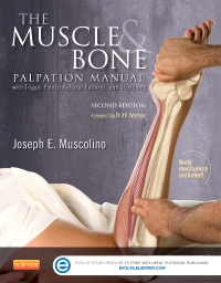 cover image - The Muscle and Bone Palpation Manual with Trigger Points, Referral Patterns and Stretching - Elsevier eBook on VitalSource,2nd Edition