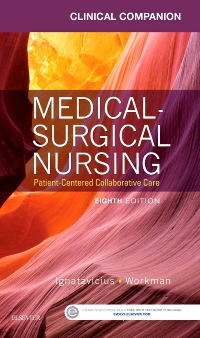 cover image - Clinical Companion for Medical-Surgical Nursing - Elsevier eBook on VitalSource,8th Edition