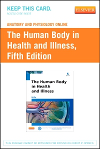 cover image - Anatomy and Physiology Online for The Human Body in Health and Illness (Access Code),5th Edition