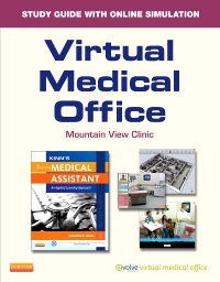 cover image - Evolve Resources for Virtual Medical Office for Kinn's The Administrative Medical Assistant,8th Edition