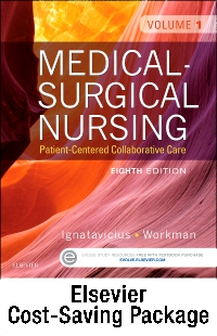 cover image - Medical-Surgical Nursing - Two-Volume Text and Clinical Nursing Judgment Study Guide Package,8th Edition
