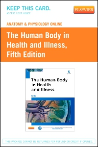 cover image - Anatomy and Physiology Online for The Human Body in Health and Illness,5th Edition