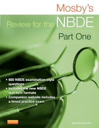 cover image - Mosby's Review for the NBDE Part I - Elsevier eBook on VitalSource,2nd Edition