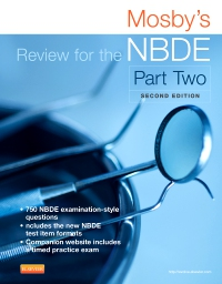cover image - Mosby's Review for the NBDE Part II,2nd Edition