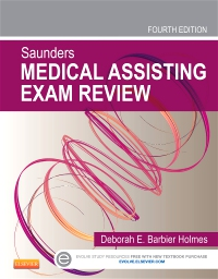 cover image - Saunders Medical Assisting Exam Review - Elsevier eBook on VitalSource,4th Edition