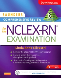 cover image - Saunders Comprehensive Review for the NCLEX-RN® Examination - Elsevier eBook on VitalSource,6th Edition