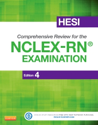 cover image - HESI Comprehensive Review for the NCLEX-RN® Examination - Elsevier eBook on VitalSource,4th Edition
