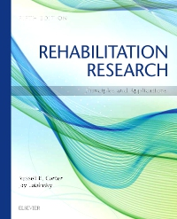 cover image - Rehabilitation Research - Elsevier eBook on Vitalsource,5th Edition