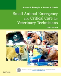 cover image - Evolve Resources for Small Animal Emergency and Critical Care for Veterinary Technicians,3rd Edition