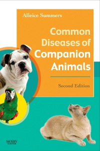 cover image - Common Diseases of Companion Animals - Elsevier eBook on VitalSource,3rd Edition