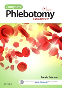 cover image - Evolve Exam Review for Complete Phlebotomy Exam Review,2nd Edition
