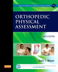 cover image - Orthopedic Physical Assessment - Elsevier eBook on VitalSource,6th Edition