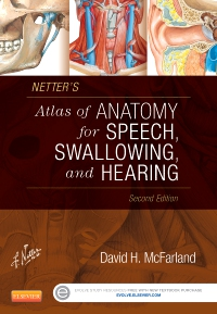 cover image - Netter's Atlas of Anatomy for Speech, Swallowing, and Hearing - Elsevier eBook on VitalSource,2nd Edition