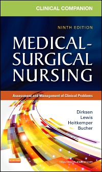 cover image - Clinical Companion to Medical-Surgical Nursing - Elsevier eBook on VitalSource,9th Edition