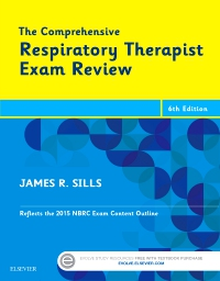 cover image - The Comprehensive Respiratory Exam Review - Elsevier eBook on VitalSource,6th Edition