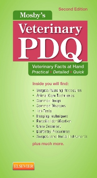 cover image - Mosby's Veterinary PDQ - Elsevier eBook on VitalSource,2nd Edition