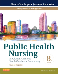 cover image - Public Health Nursing - Revised Reprint - Elsevier eBook on VitalSource,8th Edition