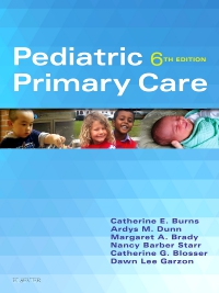 cover image - Pediatric Primary Care,6th Edition