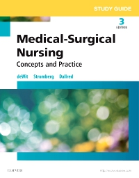 cover image - Study Guide for Medical-Surgical Nursing,3rd Edition