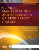 cover image - Evolve Resources for Clinical Manifestations & Assessment of Respiratory Disease,7th Edition