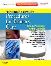 cover image - Pfenninger and Fowler's Procedures for Primary Care - Elsevier eBook on VitalSource,3rd Edition