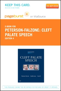 cover image - Cleft Palate Speech - Elsevier eBook on VitalSource (Retail Access Card),4th Edition
