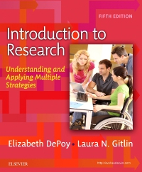 cover image - Evolve Resources for Introduction to Research,5th Edition