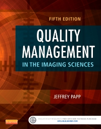 cover image - Quality Management in the Imaging Sciences,5th Edition