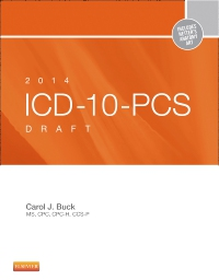 cover image - 2014 ICD-10-PCS Draft Edition - Elsevier eBook on VitalSource