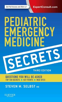 cover image - Pediatric Emergency Medicine Secrets,3rd Edition