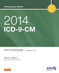 cover image - 2014 ICD-9-CM for Physicians, Volumes 1 and 2 Professional Edition - Elsevier eBook on VitalSource