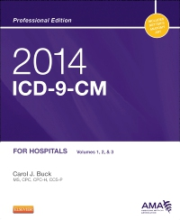 cover image - 2014 ICD-9-CM for Hospitals, Volumes 1, 2 and 3 Professional Edition - Elsevier eBook on VitalSource