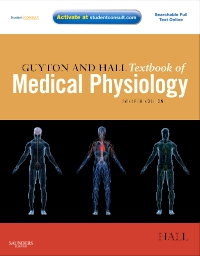 cover image - Guyton and Hall Textbook of Medical Physiology Elsevier eBook on VitalSource,12th Edition