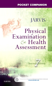 cover image - Pocket Companion for Physical Examination and Health Assessment - Elsevier eBook on VitalSource,7th Edition