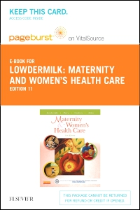 cover image - Maternity & Women's Health Care - Elsevier eBook on VitalSource (Retail Access Card),11th Edition