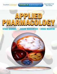 cover image - Applied Pharmacology Elsevier eBook on VitalSource