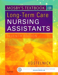 cover image - Mosby's Textbook for Long-Term Care Nursing Assistants,7th Edition