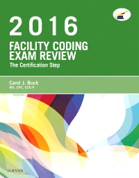 cover image - Evolve Exam Review for Facility Coding Exam Review 2016
